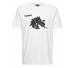 by Bramming10 - T-shirt - Hvid